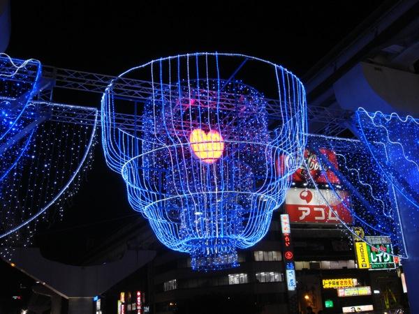 小倉駅前の飾り付け。_b0028732_2357166.jpg