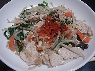 鶏野菜炒め_c0025217_19462734.jpg