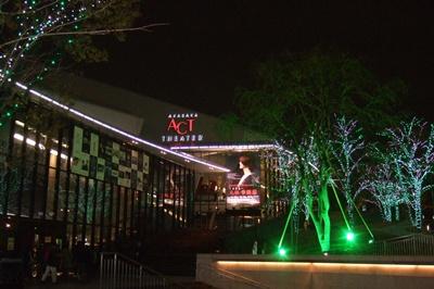 夜の赤坂サカス