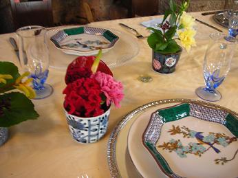 自由学園明日館公開講座「心を込めてテーブルセッティング・・・私たちの和の食卓」_c0128489_2336510.jpg
