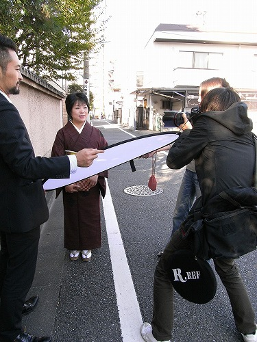 作家 畠中恵さんのスタイリングをしました。_e0115399_12304363.jpg
