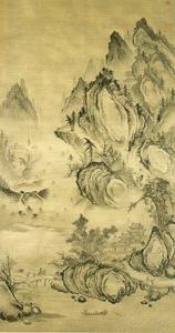 朝鮮王朝の絵画と日本 @栃木県立美術館_b0044404_1548416.jpg