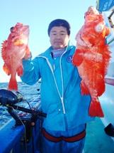 2008年11月30日 日曜日 フラッシャーサビキ五目~アコウダイ船_f0031613_195161.jpg