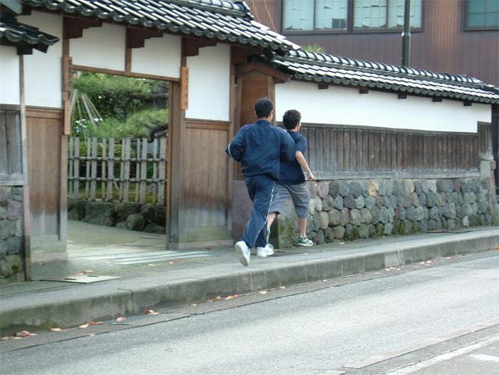 ジョギング With 長男_c0110051_953015.jpg