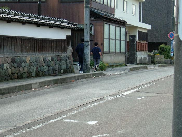 ジョギング With 長男_c0110051_9531632.jpg