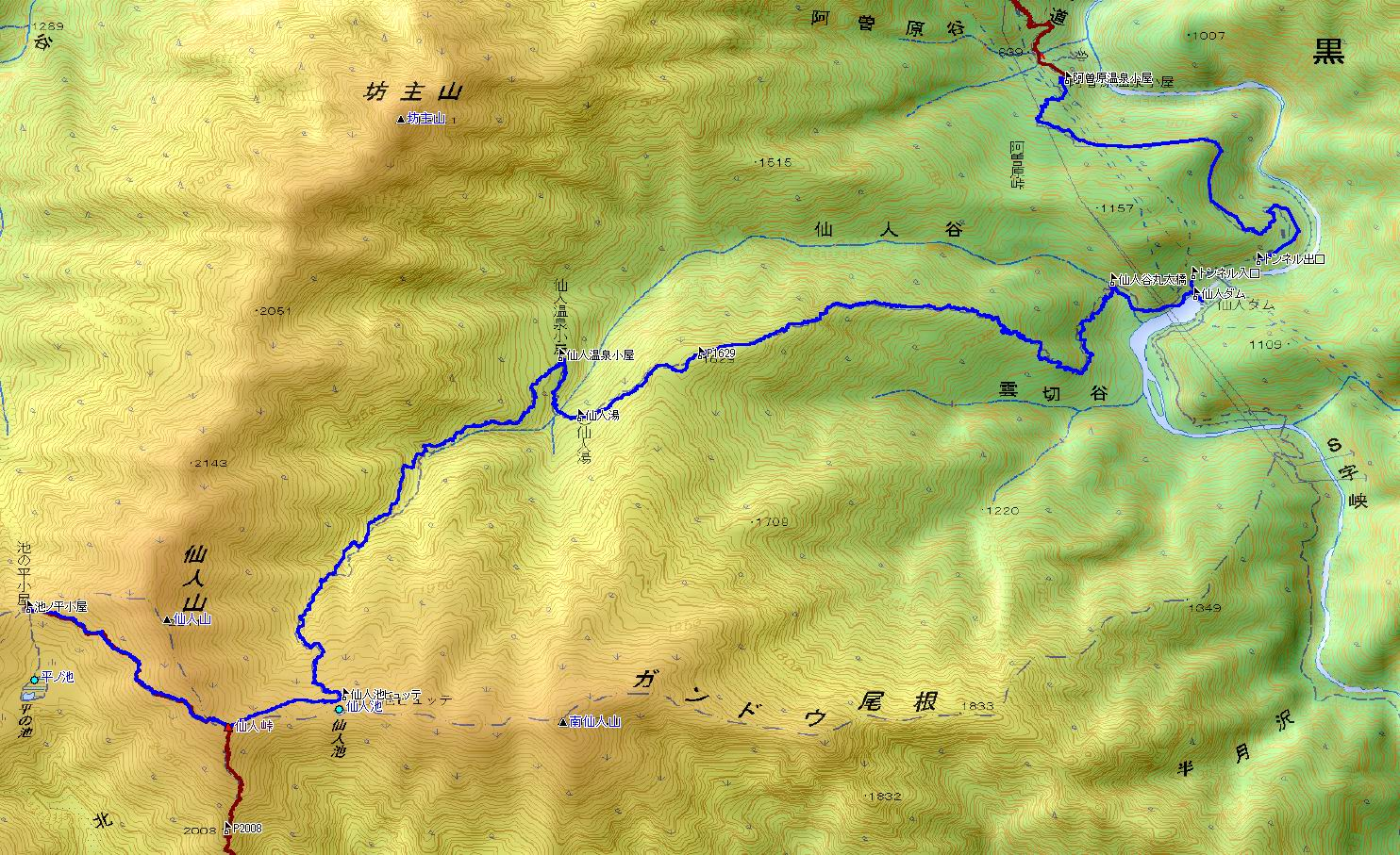 池の平・仙人池から阿曽原温泉へ (3日目)_e0110500_16271361.jpg