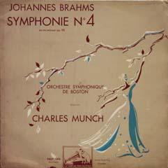 シャルル・ミュンシュ+ボストン響 / ブラームス交響曲第4番_d0102724_1645070.jpg
