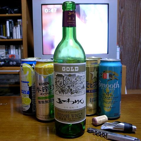 宅呑み:ワインで天使にルネッサンス_a0083760_13242794.jpg