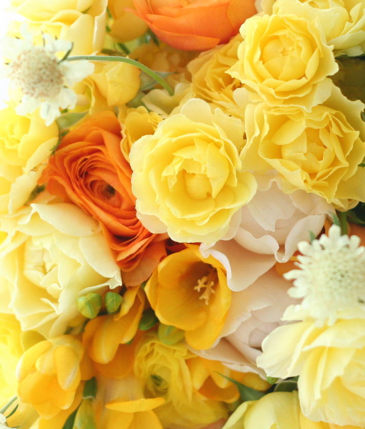 シェ松尾天王洲倶楽部様の装花 キリンとオレンジ _a0042928_2315342.jpg