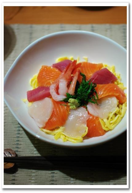 海鮮丼_f0179404_21242881.jpg