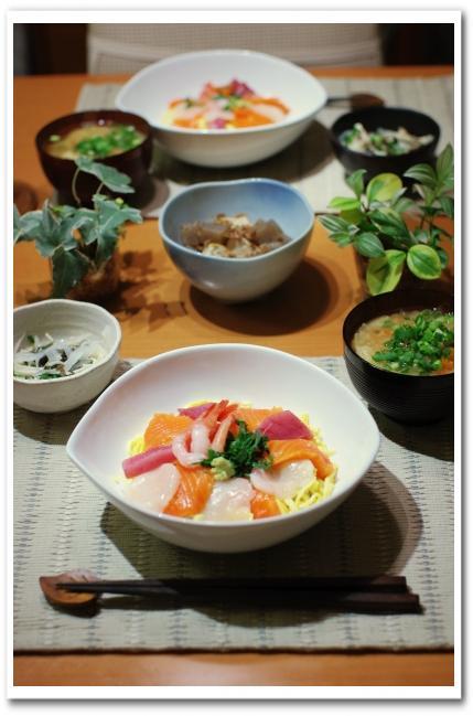 海鮮丼_f0179404_21272810.jpg