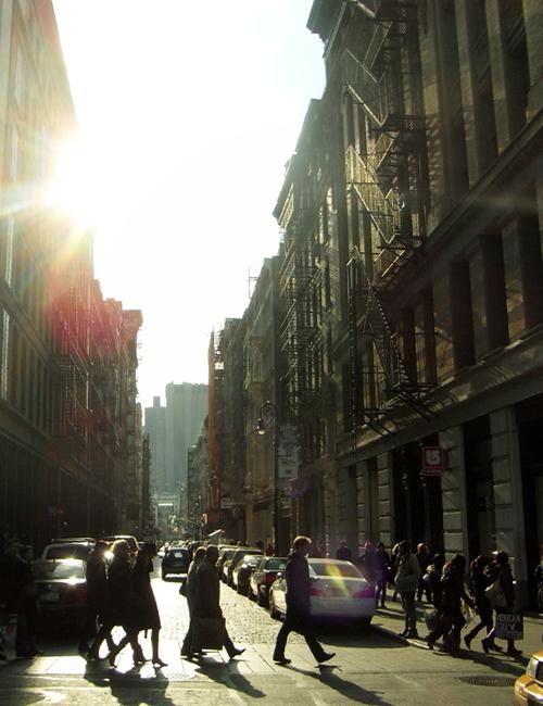 冬のニューヨークのSOHOの街角風景_b0007805_10201838.jpg