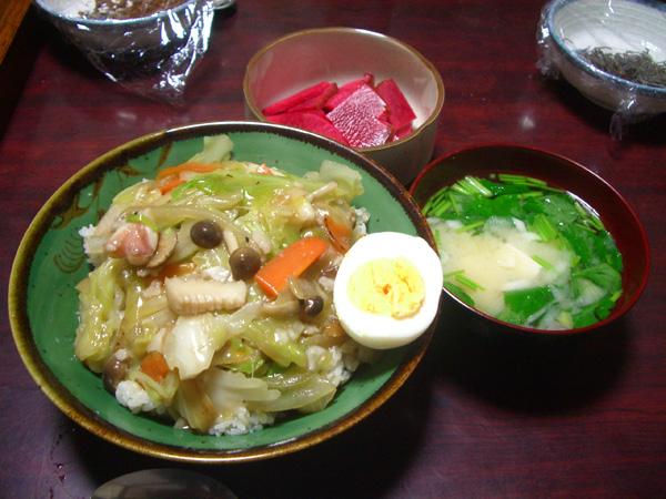 ☆中華丼★_a0080406_21114661.jpg