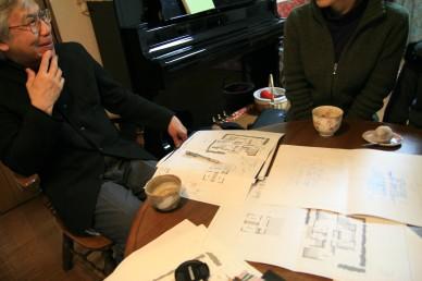 オープンハウスと久しぶりのSちゃん_e0029115_15375344.jpg