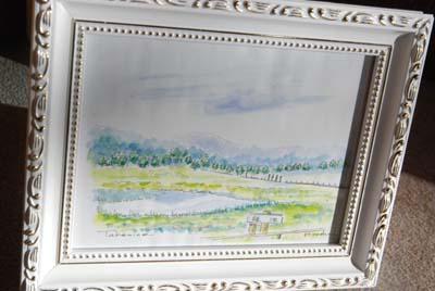 池ノ平湿原の素敵な絵を頂きました。_e0120896_14524840.jpg