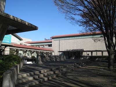 ケヤキも紅葉、屋根まで紅葉?世田谷美術館の冬支度_e0010418_17314691.jpg