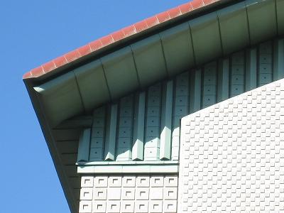 ケヤキも紅葉、屋根まで紅葉?世田谷美術館の冬支度_e0010418_17315798.jpg