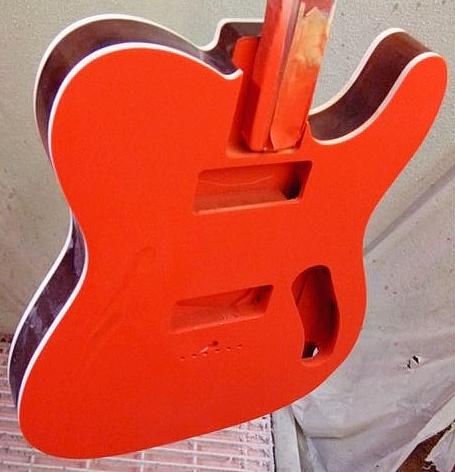 鳴川さんオーダーの「Special Hollow T」の着色が完了!_e0053731_1910060.jpg