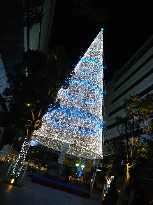 光のツリー_c0120834_8373663.jpg
