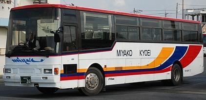 宮古協栄バスの富士重工架装車_e0030537_1155519.jpg