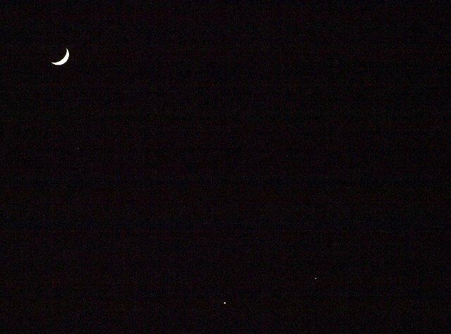 月と金星と木星☆_c0154941_1195635.jpg