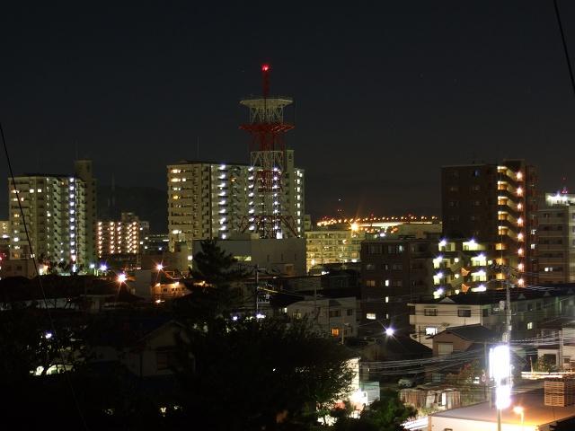矢野夜景散歩②月ヶ丘団地からの矢野のパノラマ_b0095061_8581888.jpg