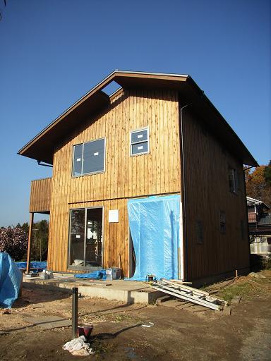 Eさんの家 もう少しで完成_a0039934_19163353.jpg