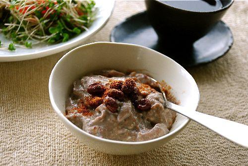 小豆と豆腐のあったかムース_e0110659_10112488.jpg