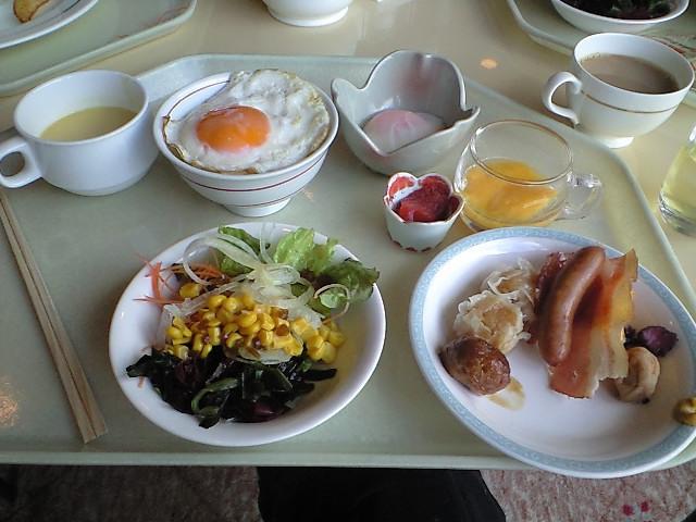朝食バイキング★_c0151965_959022.jpg