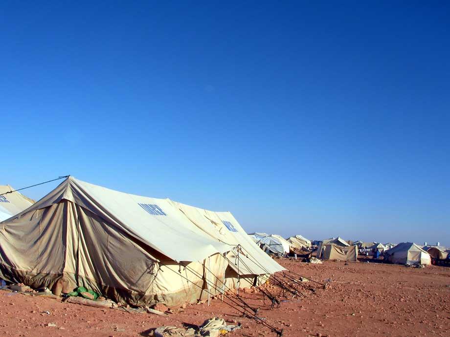 難民キャンプ訪問 その2(シリア・イラク国境)_f0155297_6442157.jpg
