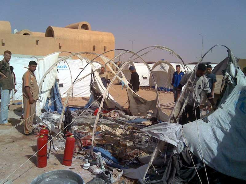 難民キャンプ訪問 その2(シリア・イラク国境)_f0155297_6532822.jpg