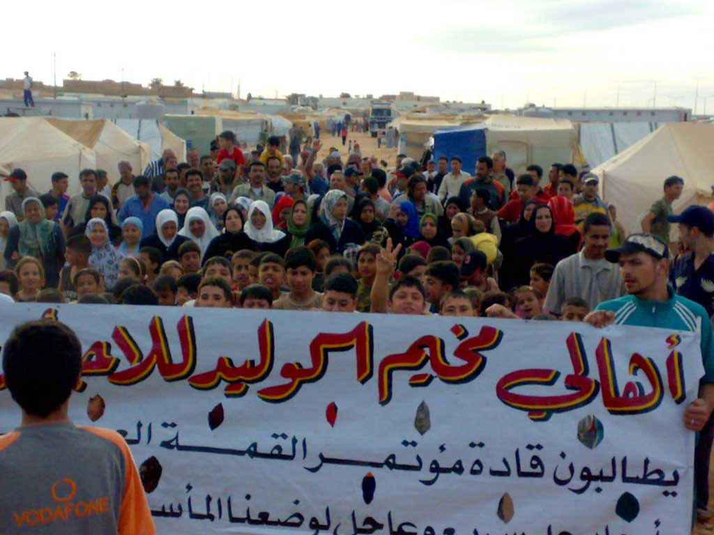 難民キャンプ訪問 その2(シリア・イラク国境)_f0155297_6573141.jpg