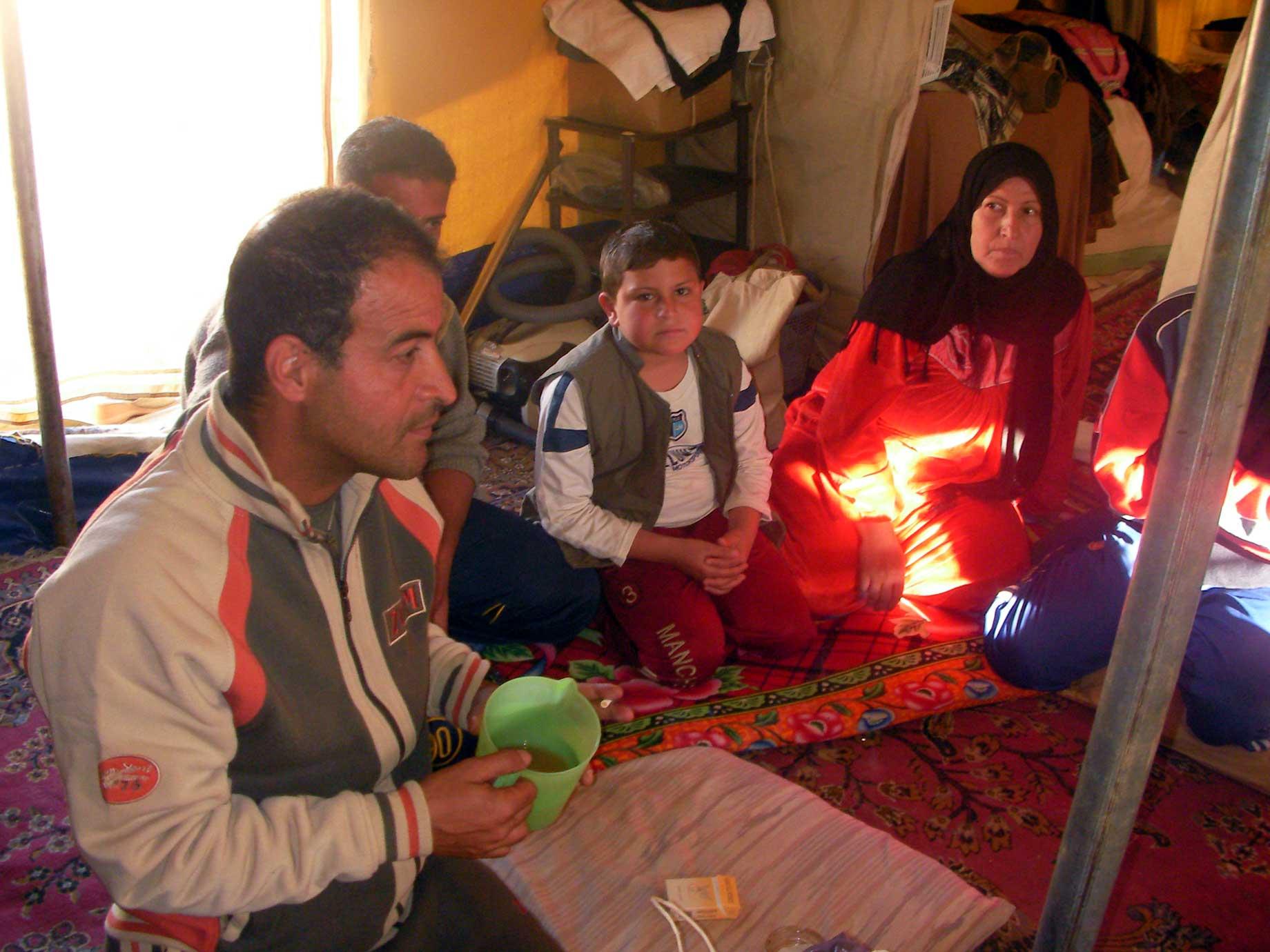 難民キャンプ訪問 その2(シリア・イラク国境)_f0155297_704056.jpg