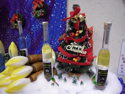 ちこり村でクリスマス限定オリジナルボトル_d0063218_2134080.jpg