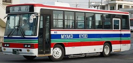 宮古協栄バス いすゞU-LR332J +アイケー_e0030537_20554190.jpg