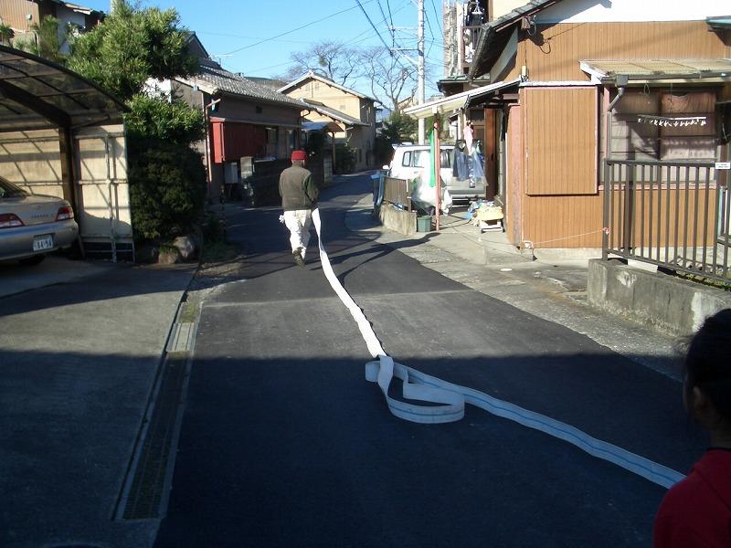 冬の「防災訓練」 放水は町内全域をカバーできるだろうか?_f0141310_23345341.jpg