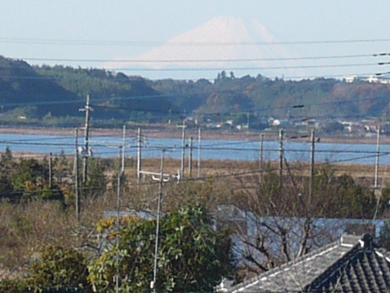 成田からの富士山_f0193752_0565718.jpg