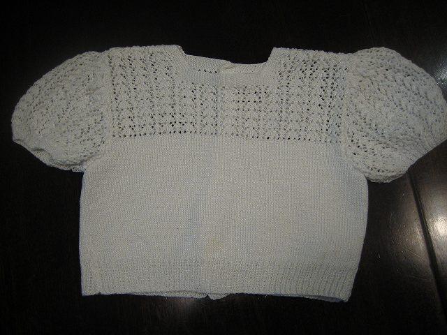 ベビーセーター2 (半袖)  _f0112550_5585148.jpg