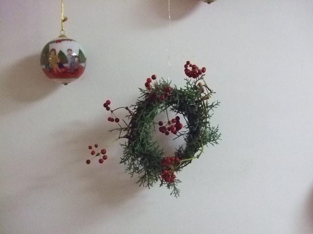オークリーフ(我が家のクリスマスリース)_f0049672_14461520.jpg