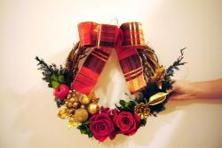 プラハでクリスマスリース&コーンレッスン_c0182100_441821.jpg