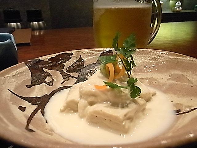 活水料理やまとの豆腐づくし_e0061902_15124595.jpg
