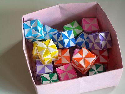 クリスマス 折り紙 折り紙 組み合わせ : ikkaku.exblog.jp