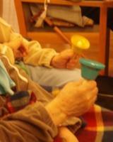 音楽療法 WITH 初めてのハンドベル_d0037159_972322.jpg