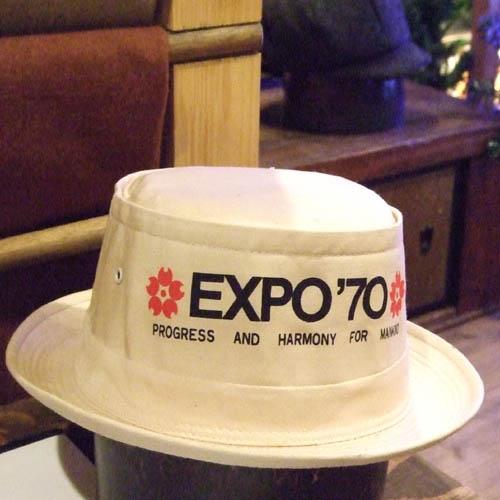 EXPO\'70 な 帽子_e0008674_21165849.jpg