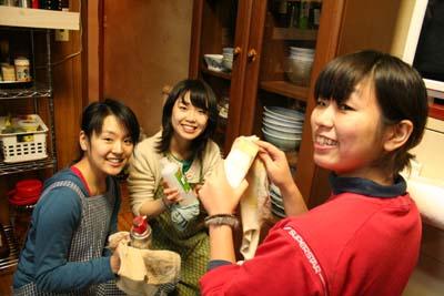 おからバーグとかぼちゃサラダ_a0080406_1215818.jpg