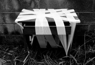 展覧会■2/4-9 「寺田忍展 包帯フェスタ<包景~ホーケイ>」(寺田忍)【インスタレーション・包帯アート】_e0091712_1243777.jpg