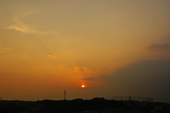 年末土曜 雲の夕_e0077521_223224.jpg