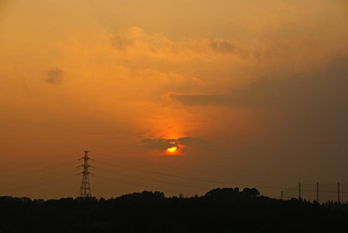 年末土曜 雲の夕_e0077521_2243984.jpg