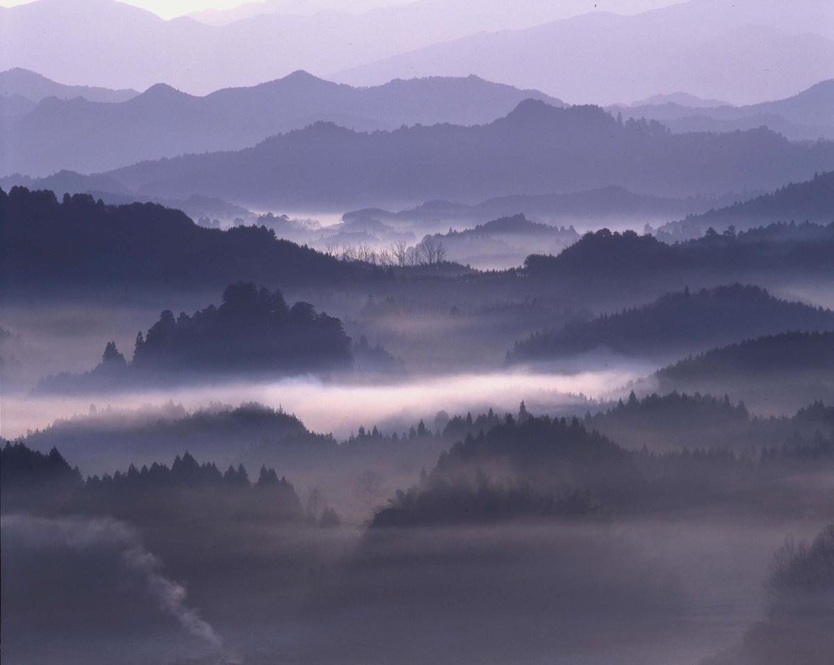 宇陀市 大宇陀区本郷 夜明けの雲海 : 魅せられて大和路