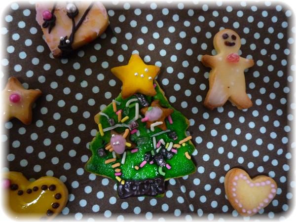 クリスマスツリークッキー☆_f0193555_19485973.jpg